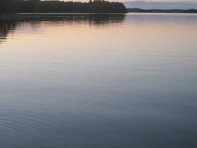 Järvimaisemaa.