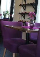 Doran kahvila Keravalla sisältäpäin kuvattuna.