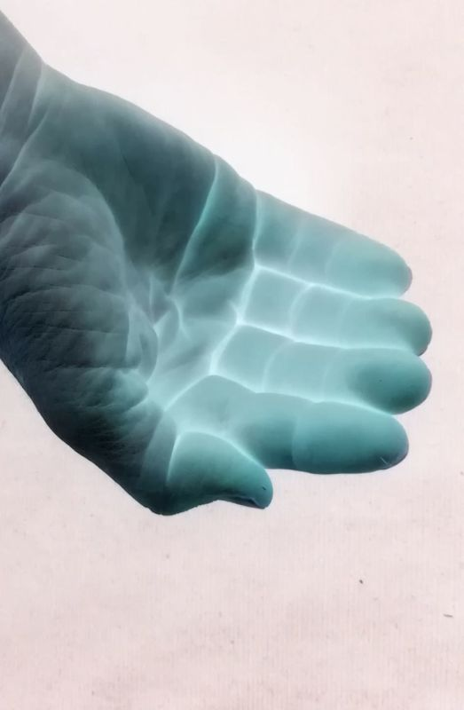 Oikea käsi.