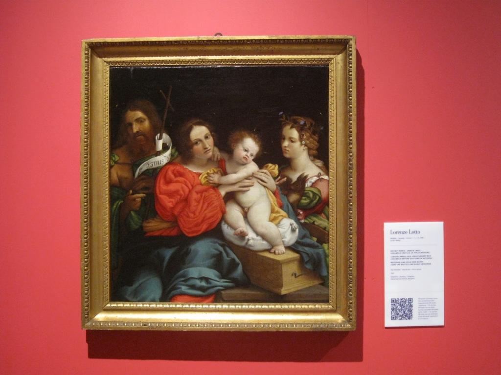 Lorenzo Lotto: Pyhä perhe.