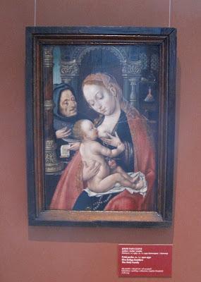 Joost van Cleven madonna, Sinebrychoffin kokoelma.