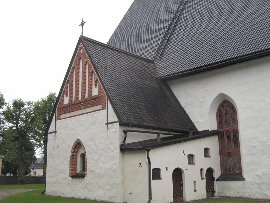 Porvoon tuomiokirkko, Runebergin kotikirkko.