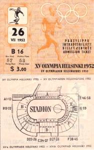 Pääsylippuja myytiin myös dollarihintaisina. Meidän lippumme maksoi nykyrahassa noin 25 euroa.
